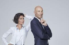 Alessandra Sublet et Nicolas Canteloup, le nouveau binôme prend ses quartiers sur TF1