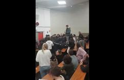 À Tolbiac, violente altercation entre l'ancien directeur et des étudiants