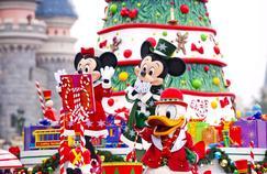Zone interdite dans les coulisses du Noël de Disneyland