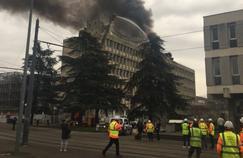 Explosion de bombonnes de gaz à l'université de Lyon 1