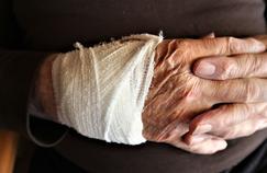 Avec l'âge, la cicatrisation se fait moins bien