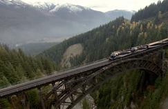 Les secrets des Trains de l'extrême sur RMC Découverte