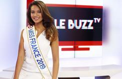Miss France 2019 invitée de La Quotidienne sur France 5