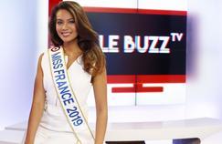 Miss France 2019 invitée de La Quotidienne sur France 5