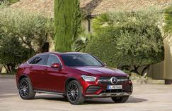 Mercedes GLC Coupé, revue de détails