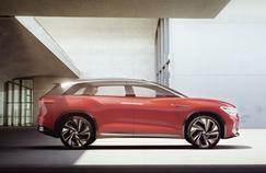 Volkswagen ID. Roomzz, un grand SUV électrique pour 2021