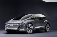 Audi AI:ME, un salon roulant pour la ville