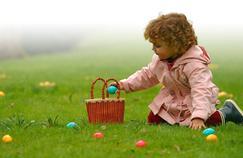 Dans les jardins, la chasse aux œufs est ouverte