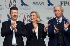 À Prague, Marine Le Pen cajole ses alliés malgré leurs divergences
