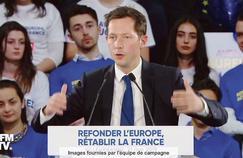 Bellamy dénonce l'«incroyable narcissisme» de Macron