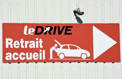 Les Français, grands adeptes du «drive»