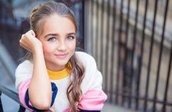 Angelina, gagnante de The Voice Kids 2017, défend la planète chez Sophie Davant
