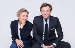 Anne-Sophie Lapix et Laurent Delahousse célèbrent les 70 ans du JT
