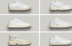 Adidas Originals réédite ses best-sellers en cuir immaculé