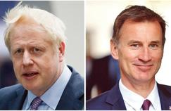 Royaume-Uni: Boris Johnson et Jeremy Hunt en lice pour succéder à Theresa May