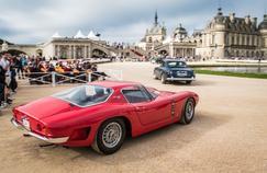 Concours d'élégance de Chantilly, l'histoire défile en habit du dimanche