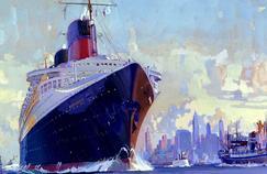 Transatlantiques: le défi de l'homme face à l'océan