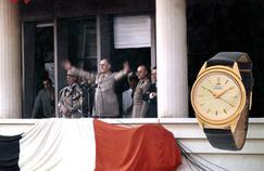 La montre Lip du Général de Gaulle enflamme les enchères