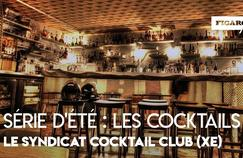 Les recettes du bar à cocktails Le Syndicat à Paris