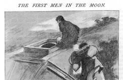 H.G.Wells et ses clones d'Armstrong et d'Aldrin