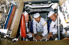 Armstrong, Aldrin et Collins, les trois géants de la Lune