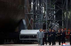 En Corée du Nord, Kim Jong-un dévoile un nouveau type de sous-marin
