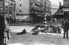 La Libération de Paris en photos sur les murs de la caserne Napoléon