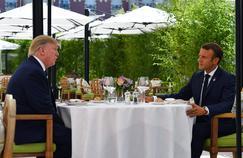 Sommet du G7 : dans les coulisses du déjeuner «improvisé» entre Trump et Macron