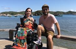 Lucie découvre le Brésil avec Jérémy Michalak