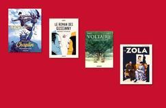 Goscinny, Chaplin, Voltaire...Une rentrée BD sous le signe de la biographie