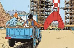 Exposition annulée, fusée gommée d'une affiche... Moulinsart bâillonne les hommages à Tintin