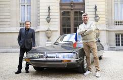 Vintage Mecanic: François Allain convie Michel Drucker à l'Élysée