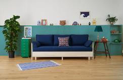 Tediber vous présente l'incroyable canapé-lit