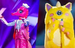 «Mask Singer»: une chanteuse et un humoriste démasqués durant la troisième émission