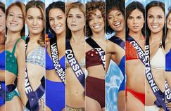 Miss France 2021: les photos officielles des 29 candidates en maillot de bain