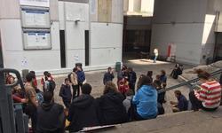 A Tolbiac, les étudiants s'organisent. (©LH)
