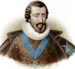Henri IV, roi de France de 1589 à 1610, mit fin aux guerres de religion en signant l'édit de Nantes en 1598.