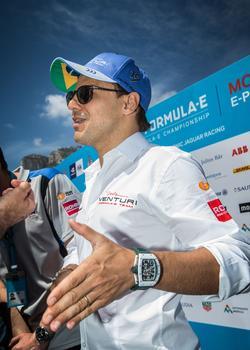 Le pilote de F1 Felipe Massa.