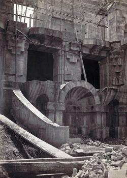 Construction de l'Opera de Paris