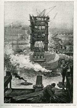 TOWER BRIDGE BUILT 1892