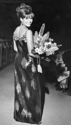 Claudia Cardinale à la Berlinale en 1964.