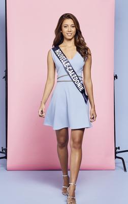 Amandine Chabrier, Miss Nouvelle–Calédonie 2018