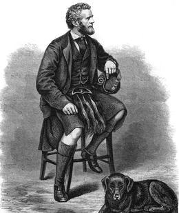 John Brown est le dévoué serviteur personnel écossais de la reine Victoria. Il meurt à son service en 1883.
