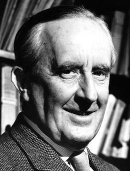 JRR Tolkien, créateur des histoires célèbres de la Terre du Milieu.
