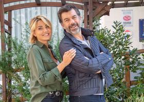 Caroline Keslassy et Stéphane Plaza.