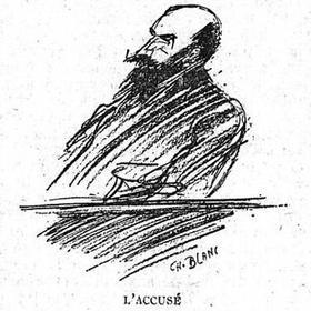 L'accusé croqué dans Le Figaro du 8 novembre 1921.
