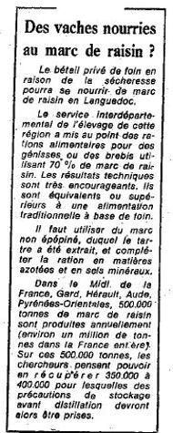 «Le Figaro» du 23 août 1976.