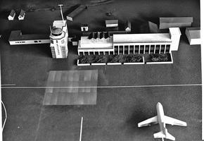 Maquette de l'aéroport d'Entebbe conservée par l'armée à Ramat Gan.