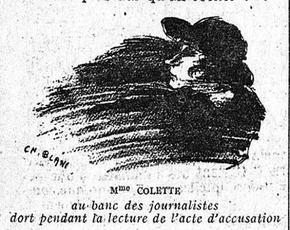Caricature parue dans l'édition du «Figaro» du 8 novembre 1921.