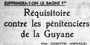 Réquisitoire dans Le Figaro le 1er janvier 1938